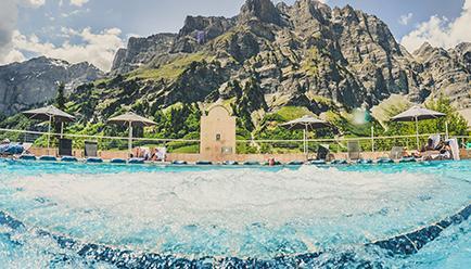 Thermal Hotel Leukerbad Switzerland