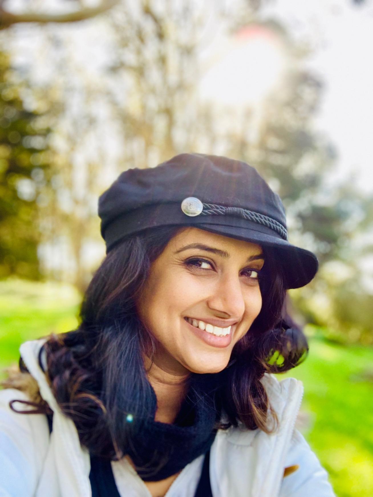 khyati travel influencer girl smiling