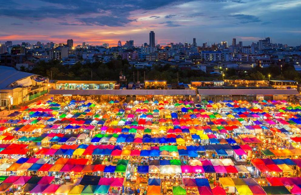 Chatuchak Weekend Market in thailand