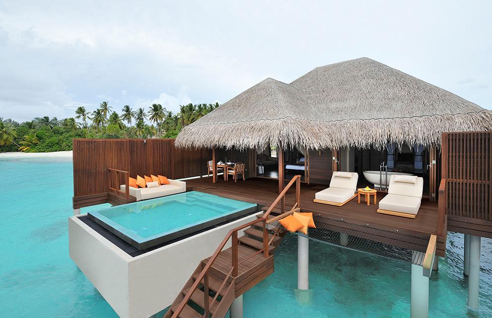 Ayada Maldives resort water villa
