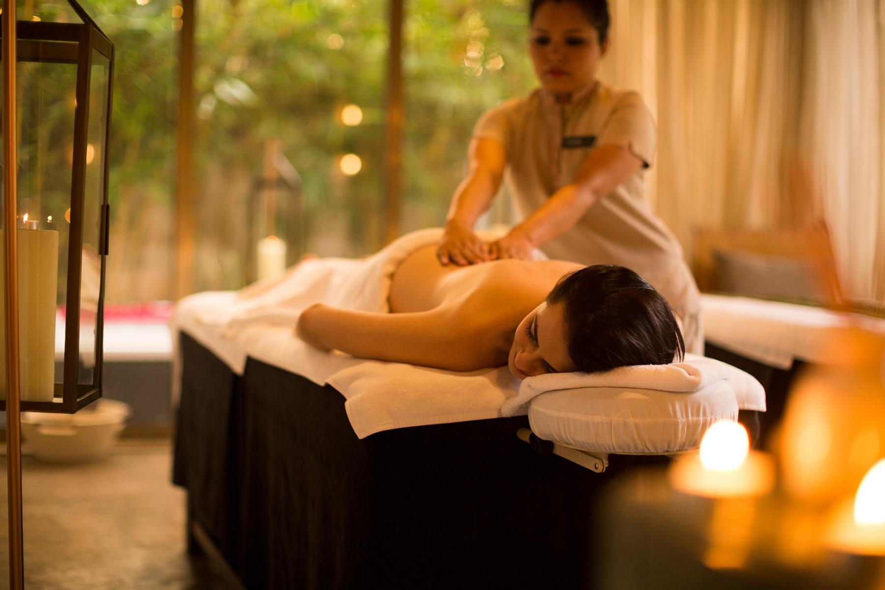 What is happy ending massage