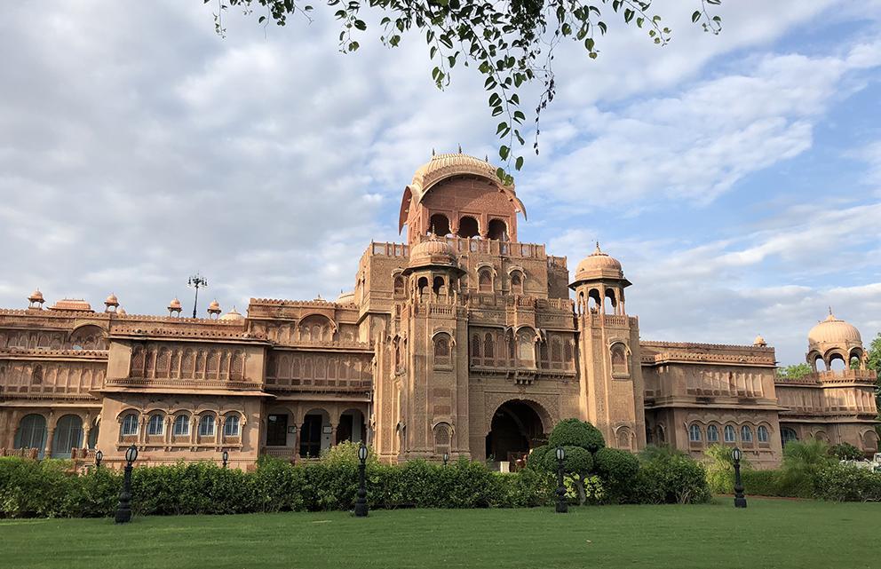 exterior of narendra bhawan