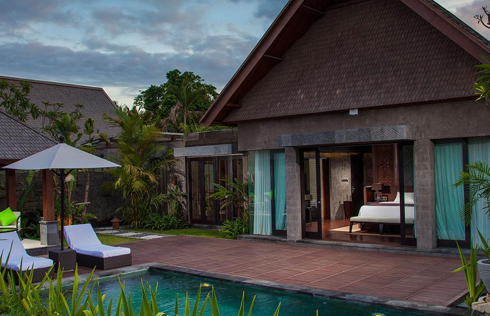 garden pool villa at Sanctoo Villas